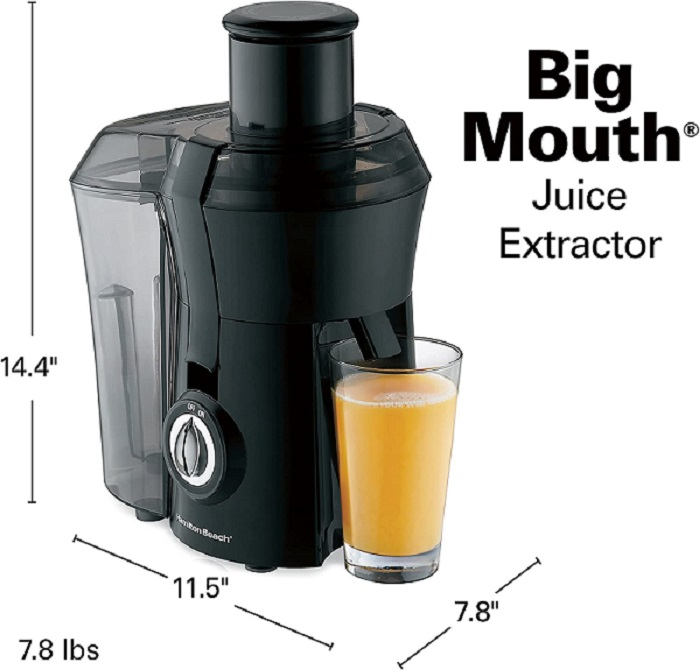 discounted hamilton beach juicer machine